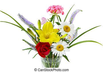 花, 鮮艷