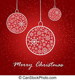 芸術的, カード, クリスマス