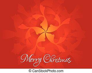 芸術的, クリスマス, 背景, 抽象的