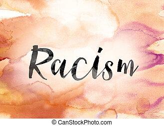 芸術, カラフルである, 人種差別, 水彩画, インク, 単語