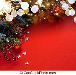 芸術, クリスマス, 背景, ホリデー