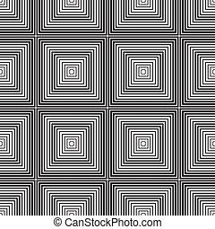 芸術, パターン, 抽象的, seamless, 光学, 背景, 活気に満ちた, オペ