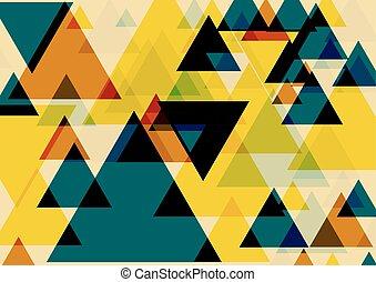 芸術, ポンとはじけなさい, 三角形