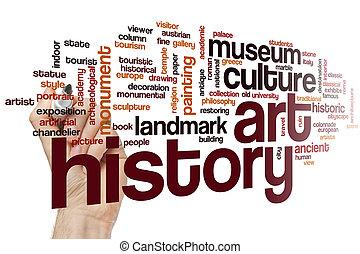 芸術, 単語, 雲, 歴史