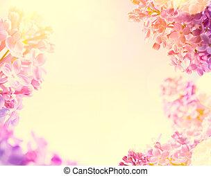 芸術, 春, 背景, 新鮮な花