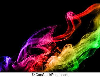 芸術, 煙
