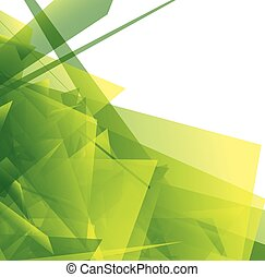 芸術, illustration., 抽象的, shapes., 刃の鋭い, ベクトル, デジタル