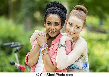若い女性たち