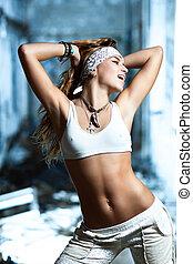 若い女性, ダンス