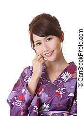 若い女性, japaneses, 魅力的