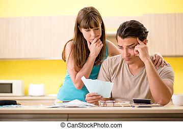若い 家族, 戦うこと, ∥で∥, 個人的な金融