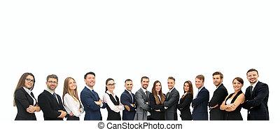 若い, 魅力的, ビジネス 人々, -, ∥, エリート, ビジネス チーム