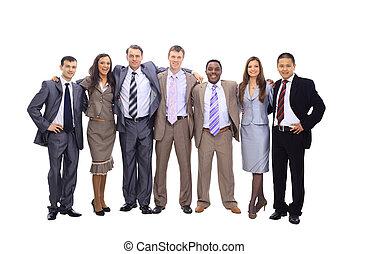 若い, 魅力的, ビジネス 人々