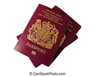英國人, 護照