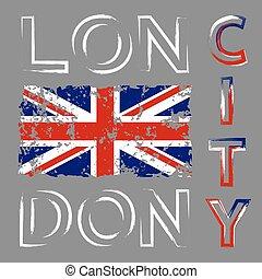 英國旗, t襯衫