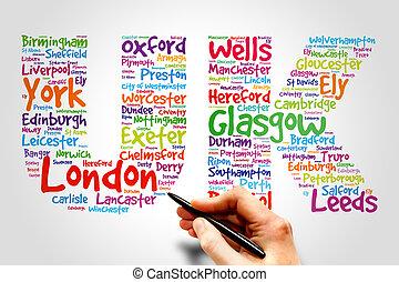 英國, 旅行, 概念