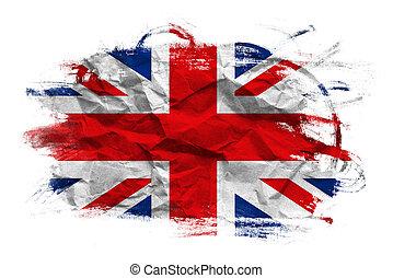 英國, 旗