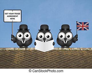英國, 貿易, 代表團