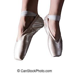 英尺, ......的, 跳舞, 芭蕾舞女演員