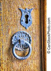 英語, 古董, 門
