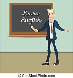 英語, lesson., 教師