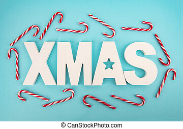 茎, 手紙, クリスマス, キャンデー