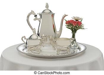 茶, 是, 服務