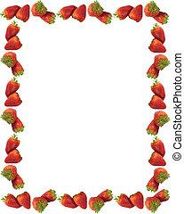 草莓, 邊框