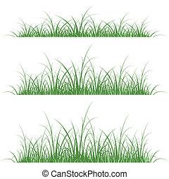 草, シルエット
