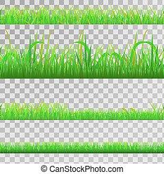 草, 緑, seamless