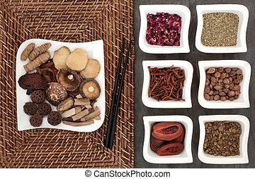 草 薬, 選択肢, 中国語