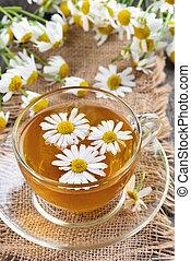 草, chamomile 茶