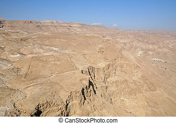 荒野, ......的, judea, 從, 以色列