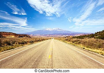 荒野, 路, 西方