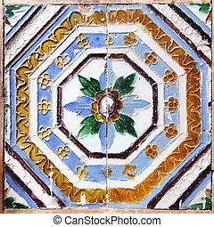 荒野, 陶瓷的瓷砖