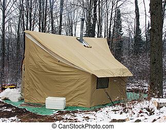 荒野, 露營