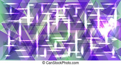 菘蓝染料, 紫色, 模式, 金属, tones., 矢量