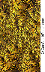 華やかなパターン, -, 抽象的, デジタルによって 発生させる イメージ