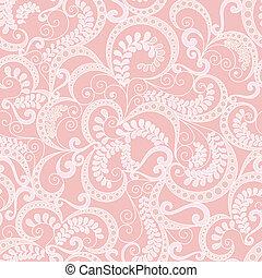 華やかなパターン, 背景, ピンク, seamless