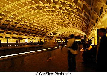 華盛頓特區, 地下鐵道