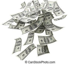 落ちている金, ビルズ, $100
