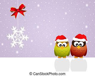 葉書, クリスマス