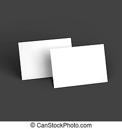 葉書, ビジネス, mockup, 雑誌, 小冊子, ∥あるいは∥, パンフレット, template., カード