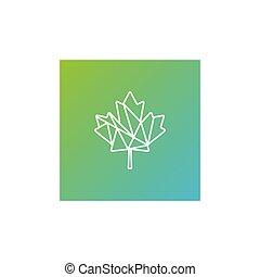 葉, イラスト, 要素, インド大麻, ベクトル, 緑, テンプレート, ロゴ, アイコン