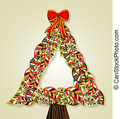 葉, クリスマス, 多様性, 木
