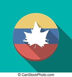 葉, ボタン, 木, 長い間, 秋, 影, ベネズエラ