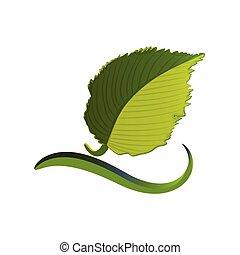 葉, ロゴ, 生態学的