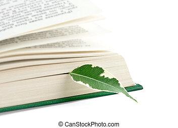 葉, 本を 開けなさい, 緑