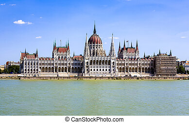 著名, 匈牙利人, 議會, 在, 布達佩斯