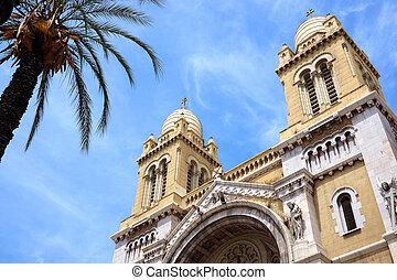 著名, 天主教徒, 突尼斯, 教堂